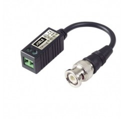 Mini Video Transceiver with 10cm mini Coax Cable (Balun)