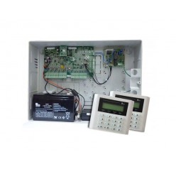 AX1 Alarm System Package with Voice ( 2 LCD Keypad )