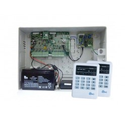 AX1 Alarm System Package with Voice ( 2 LED Keypad )
