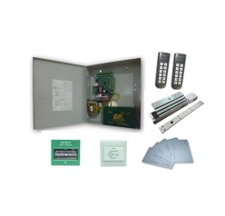 Two door Card Access Proximity TCP/IP system Complete set c/w 4 Reader