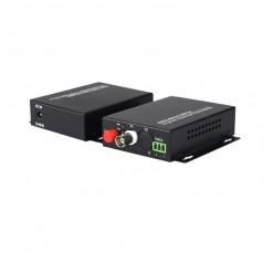 1 Channel RG59 Full HD Fiber Optic Converter