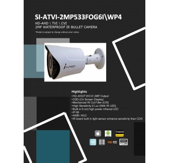 SECU-I 2MP 1080P IR BULLET CAMERA